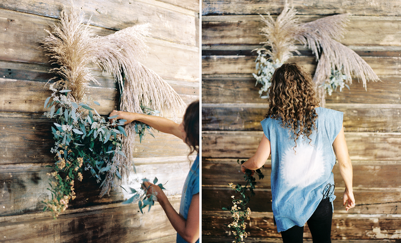 foraged wreath diy with katie chirgotis 13